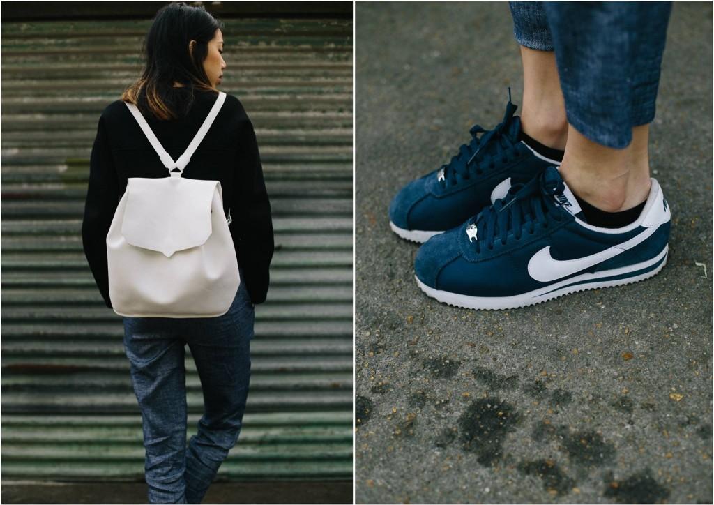 Nike Cortez Blanche Femme
