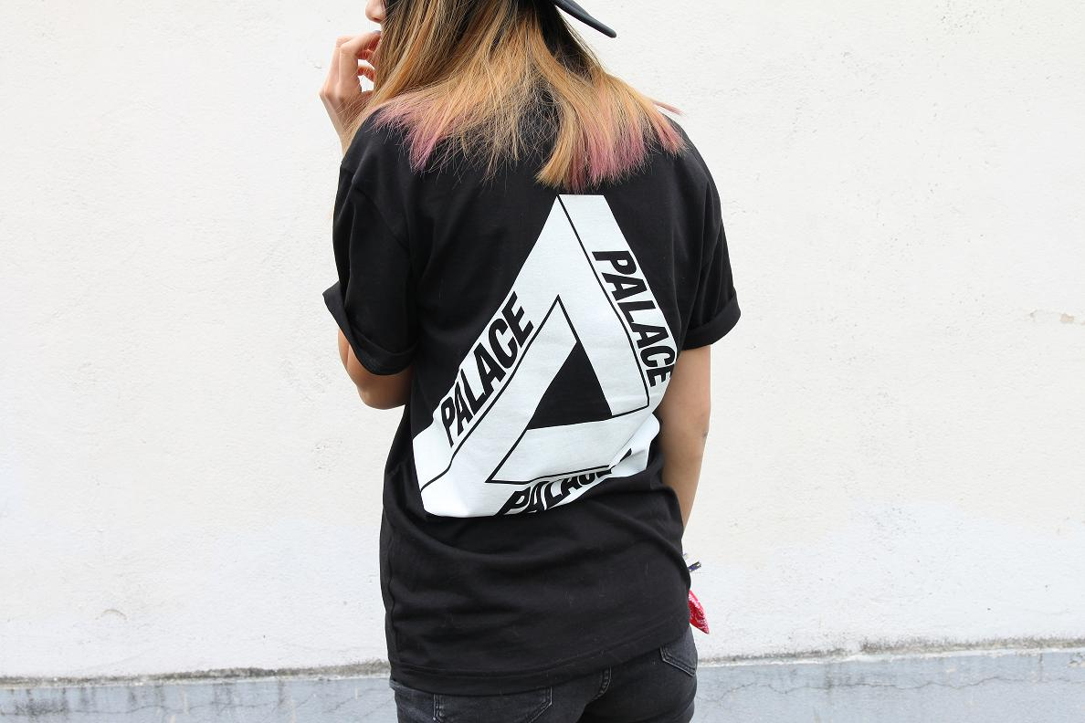 Palace black t shirt