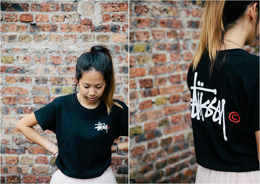 Stussy cropped t shirt 4