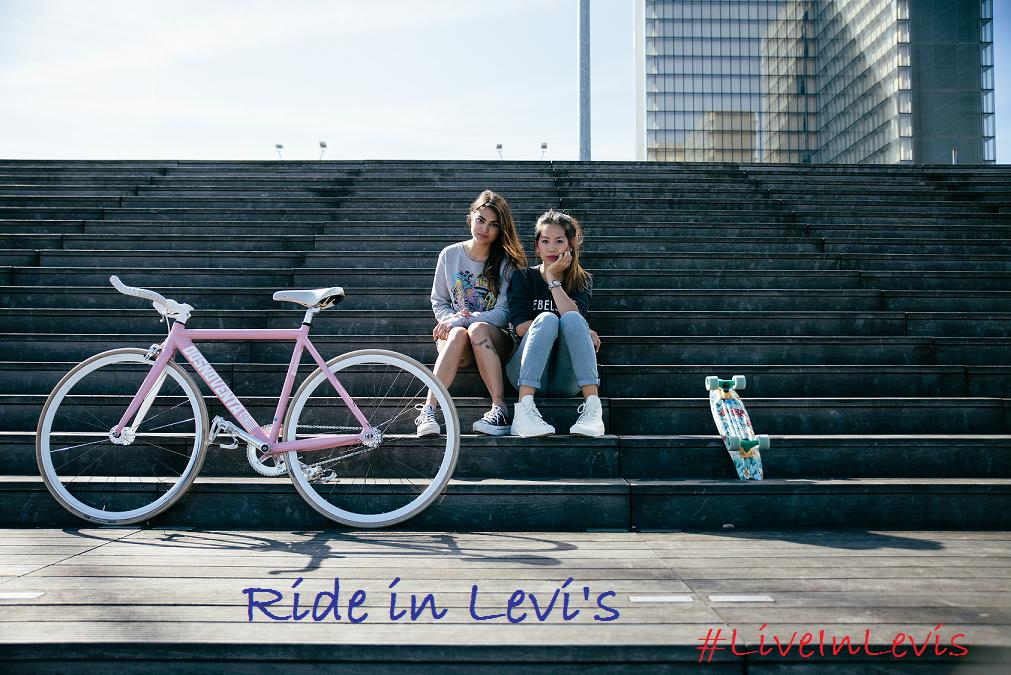Candy Rosie x Live in Levis Ride in Levis