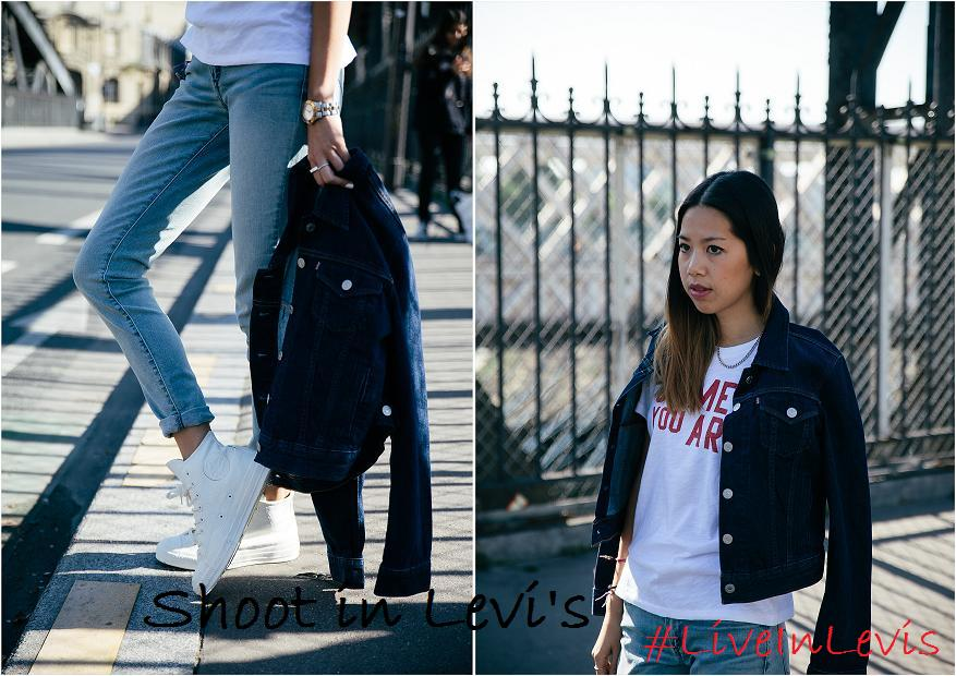 Candy Rosie x Levis Shoot in Levis
