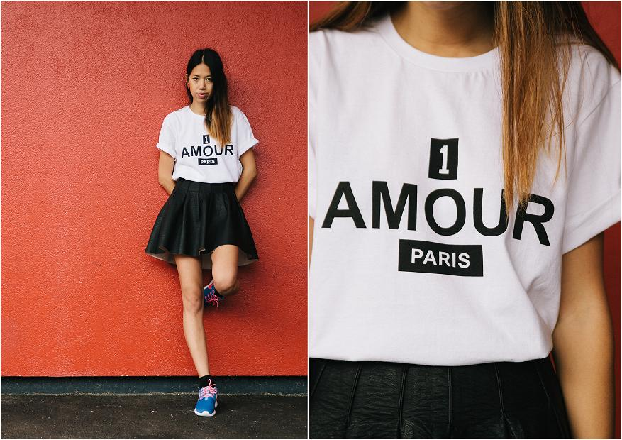 Premier amour tee Candy Rosie