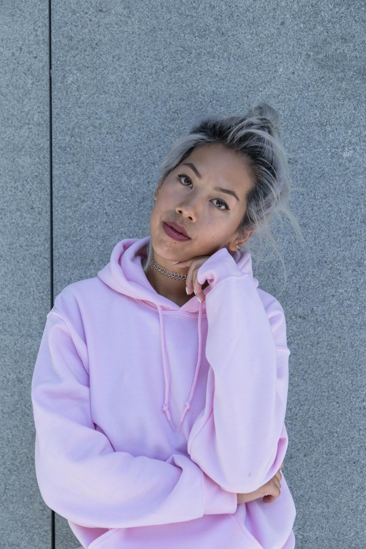 Bdg Pink Hoodie - UO x Candy Rosie 2