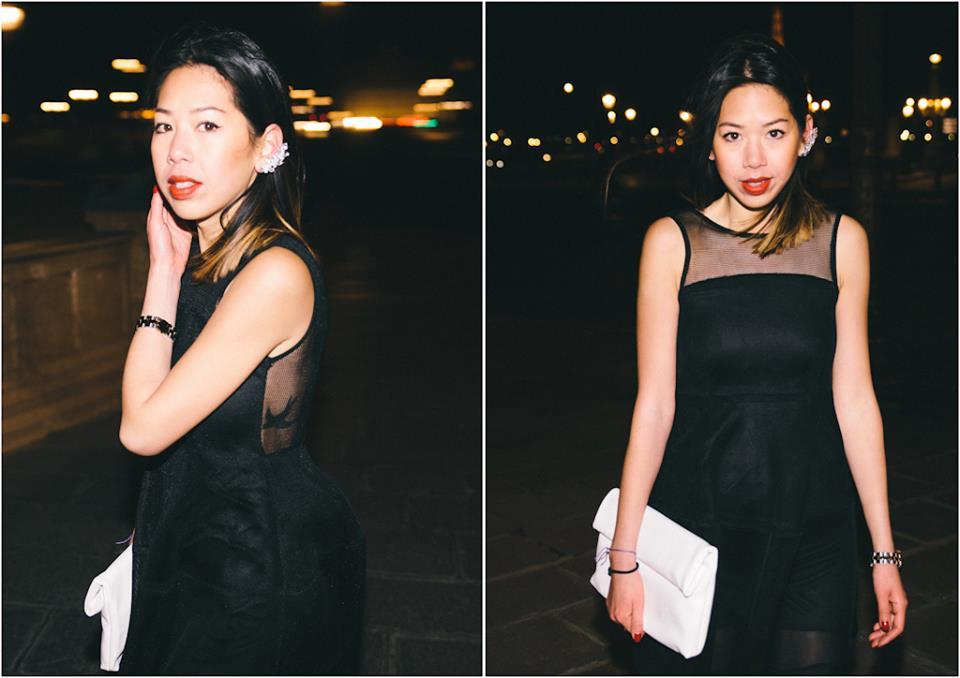 Boohoo lantern dress
