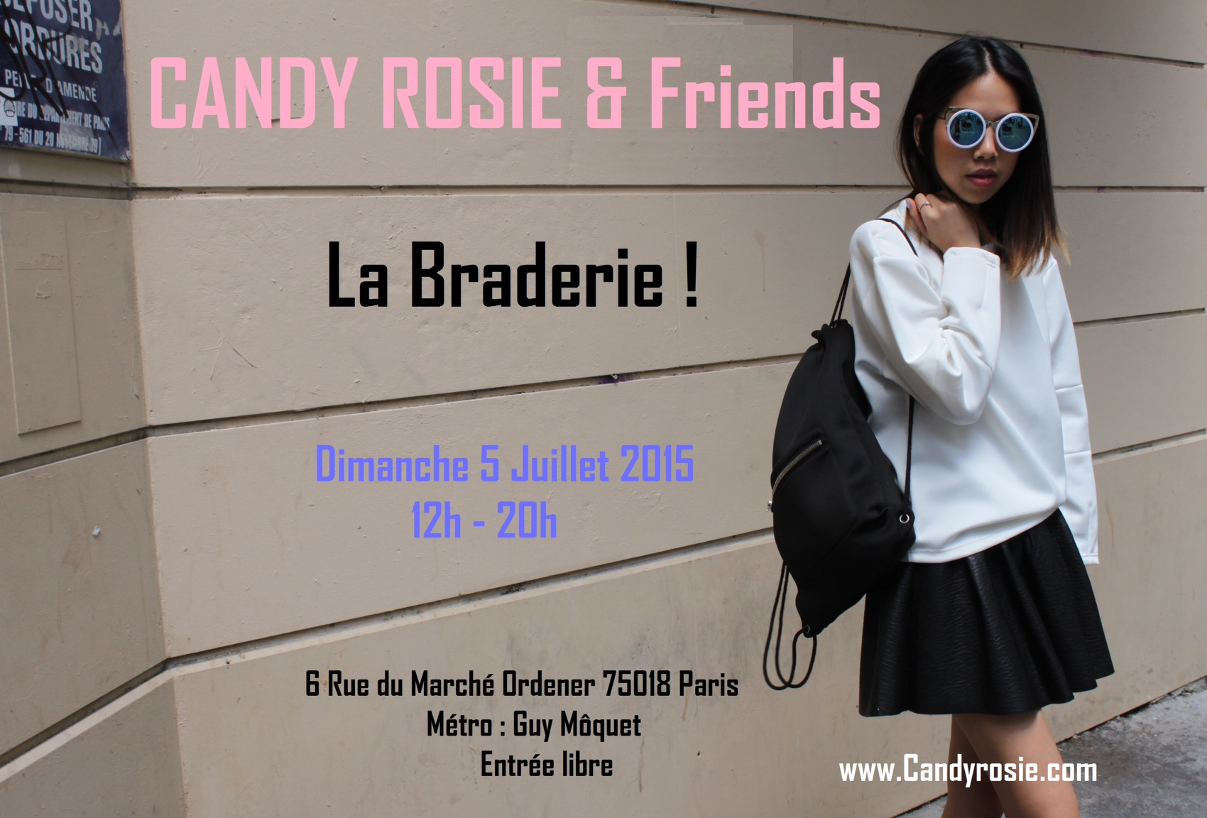 Braderie Candy Rosie & Friends - 05.07.15