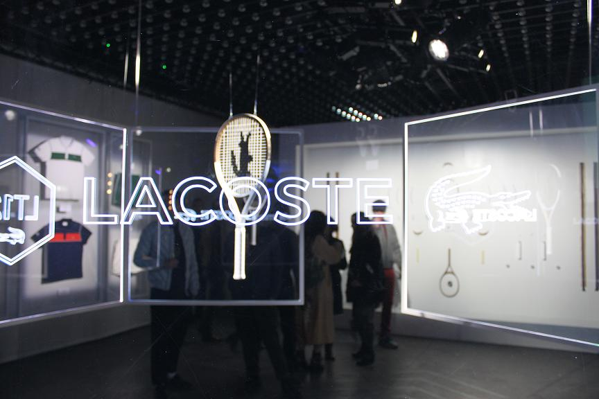 Lacoste party Elegance is victory Faust