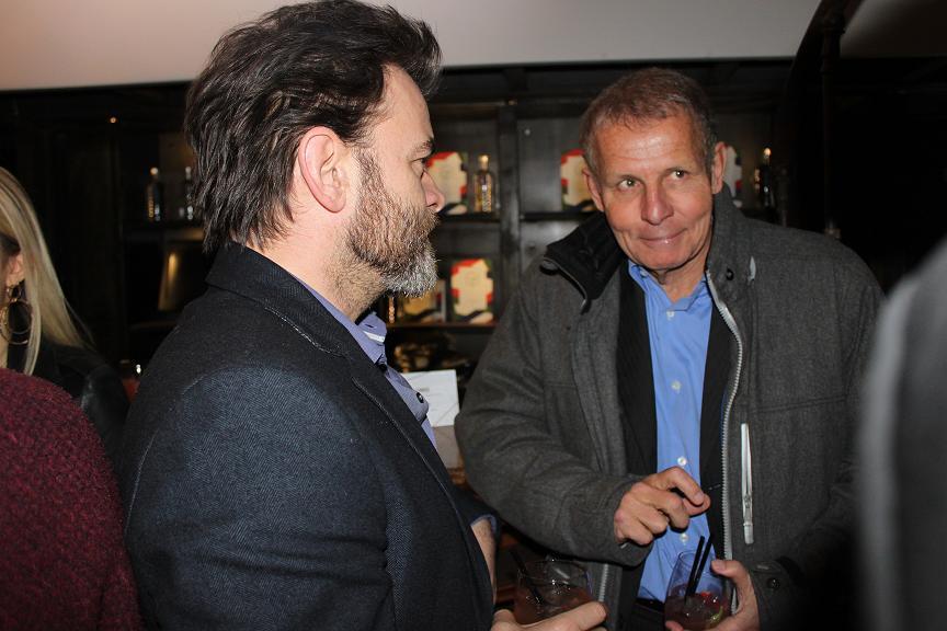 Patrick Poivre d'Arvor Lacoste party Elegance is victory Faust