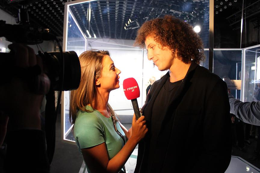 David Luiz Lacoste party Elegance is victory Faust