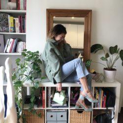 Sac baby abat Amélie pochard vert