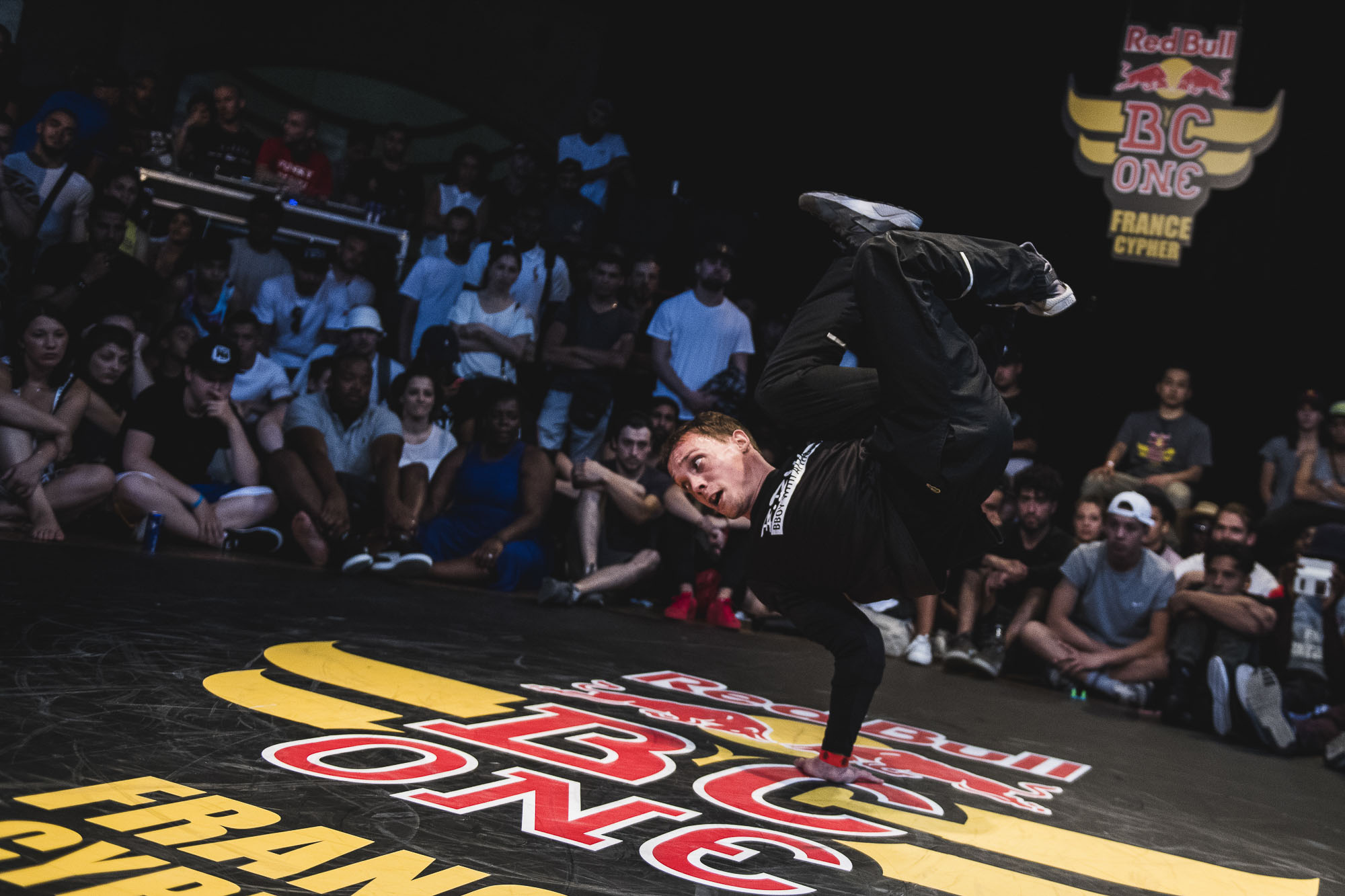 Artson competes at the WIP Villette during the Red Bull BC One France Cypher Final in Paris, France on July 10th 2016.
