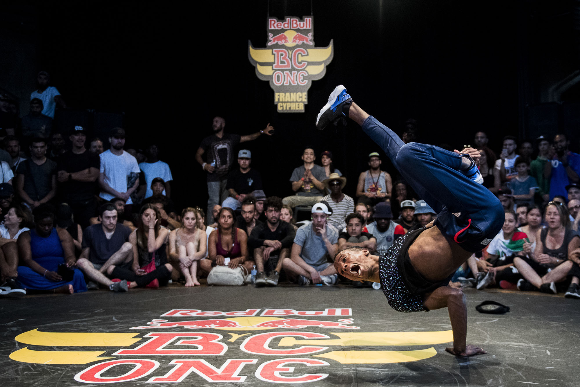 Niggaz competes at the WIP Villette during the Red Bull BC One France Cypher Final in Paris, France on July 10th 2016.