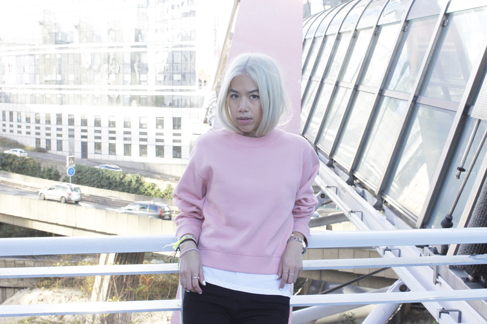 ACNE pink sweater