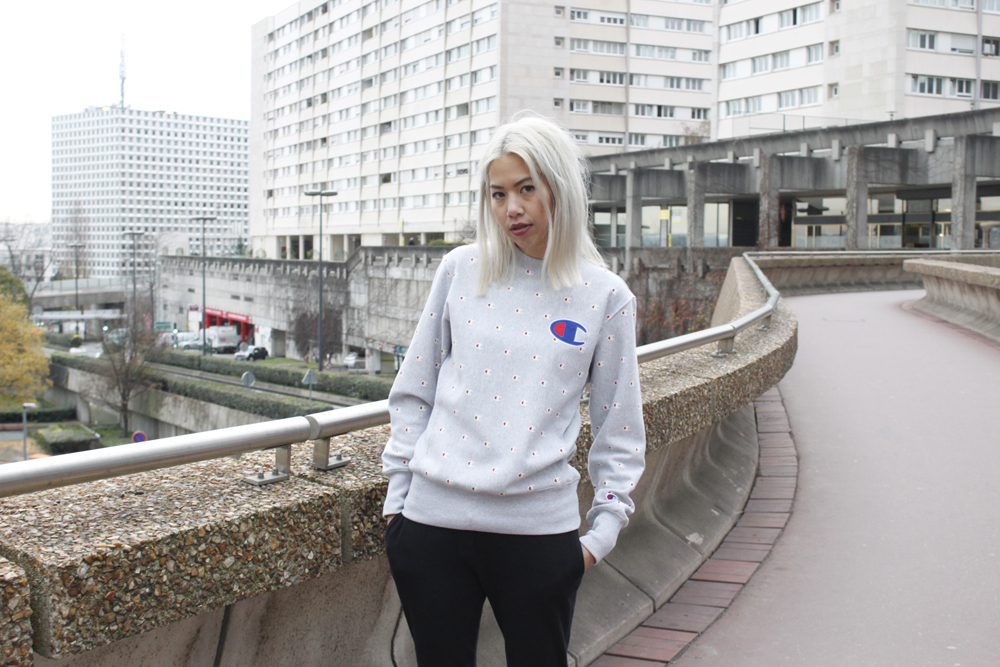 Champion sweater