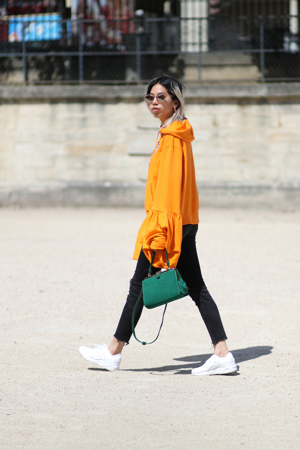 Pull asos oversized orange 2