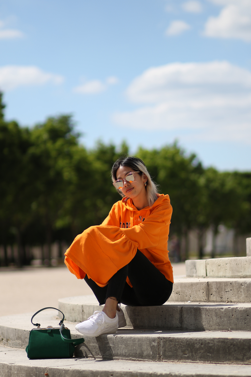 Pull asos oversized orange 4