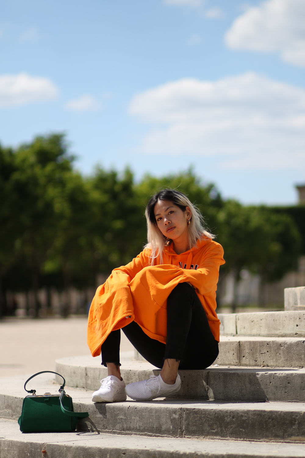 Pull asos oversized orange 5