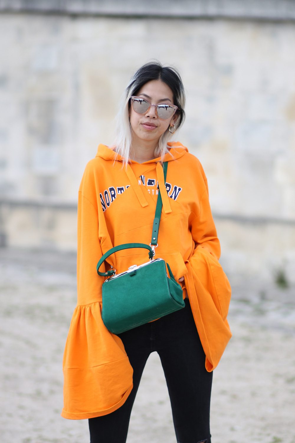 Pull asos oversized orange 6