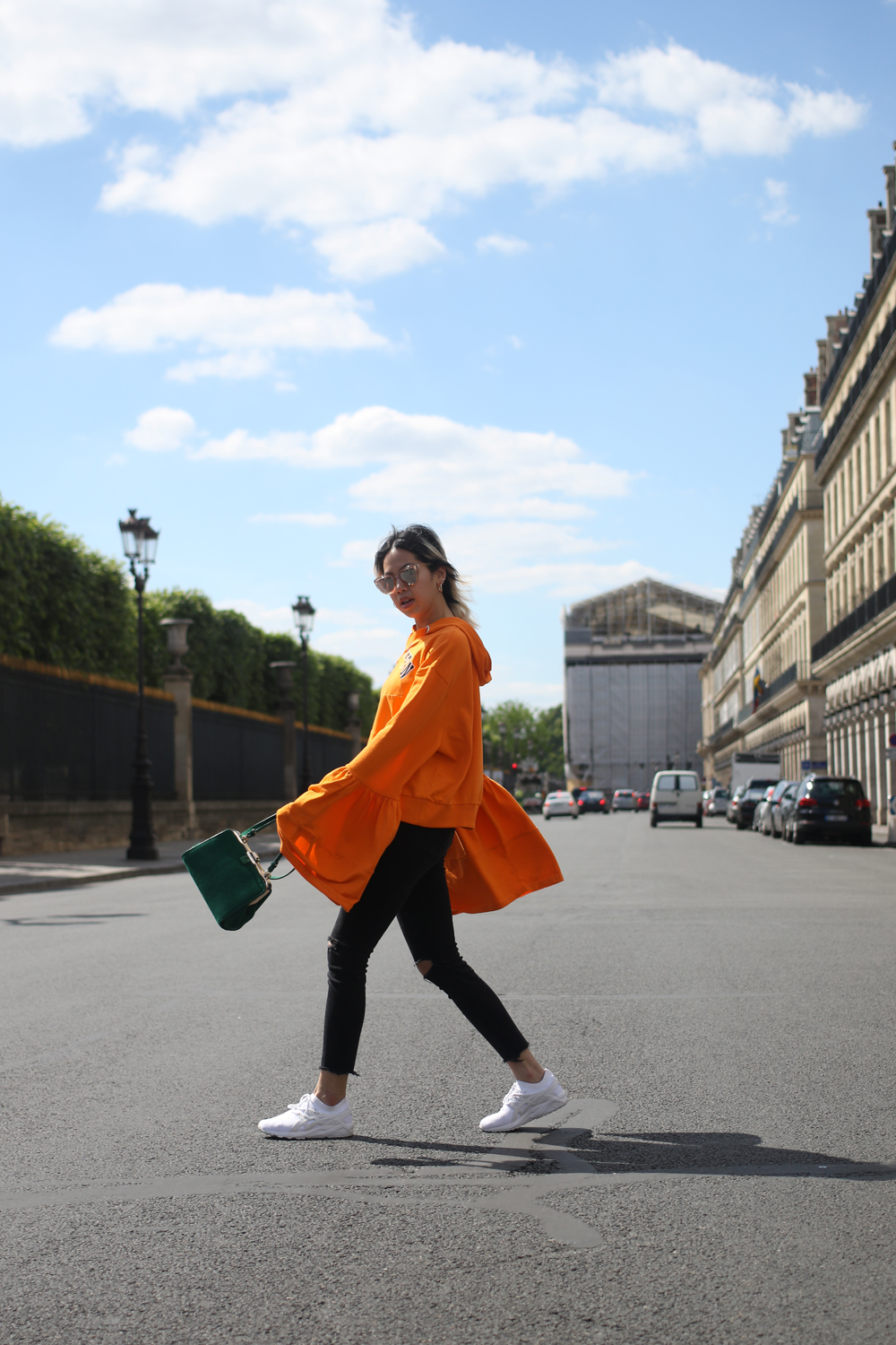 Pull asos oversized orange 7