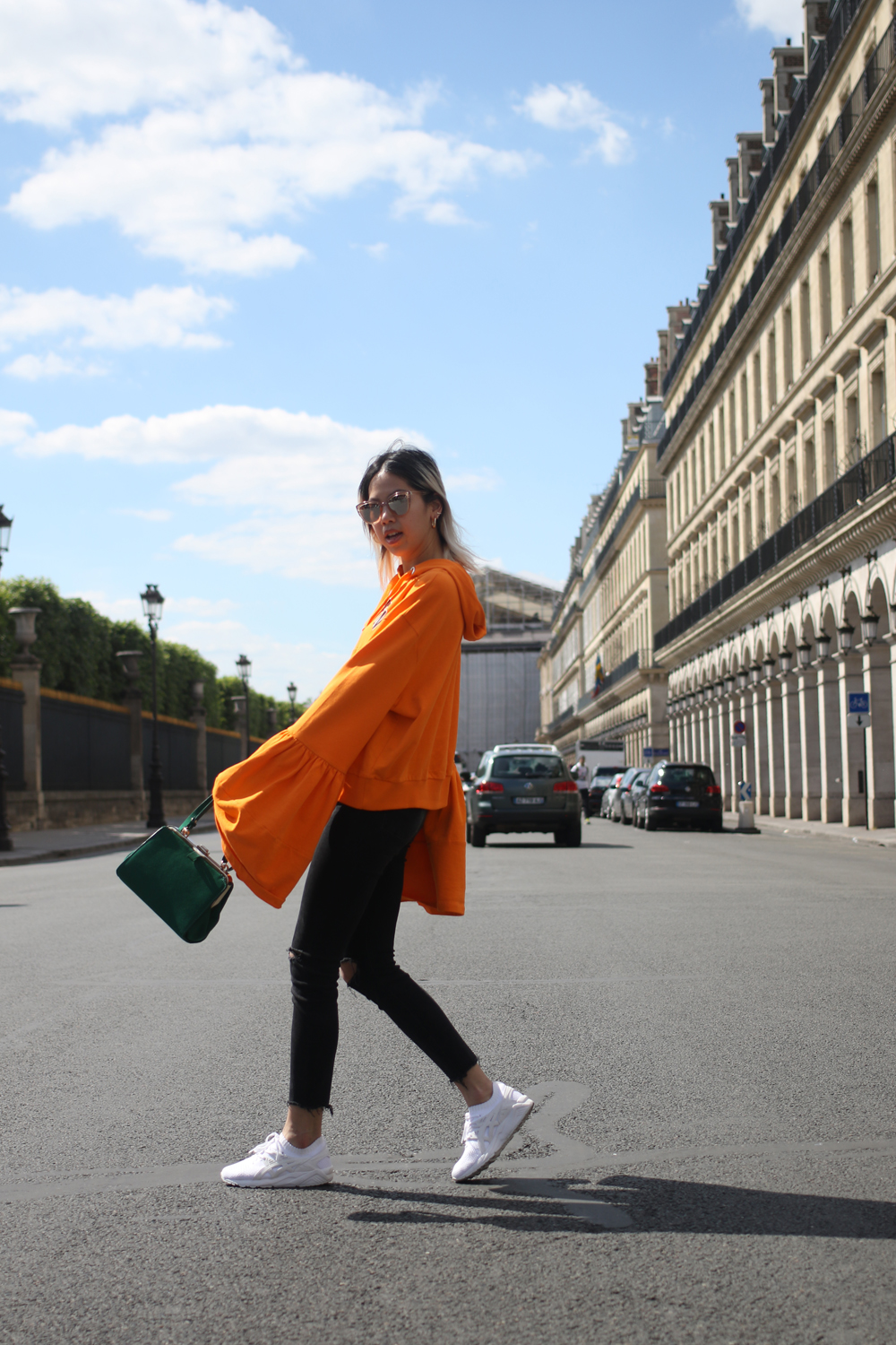 Pull asos oversized orange 8