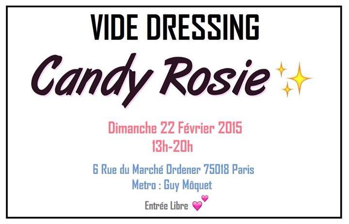Vide Dressing Candy Rosie