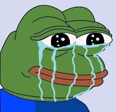 frog crying