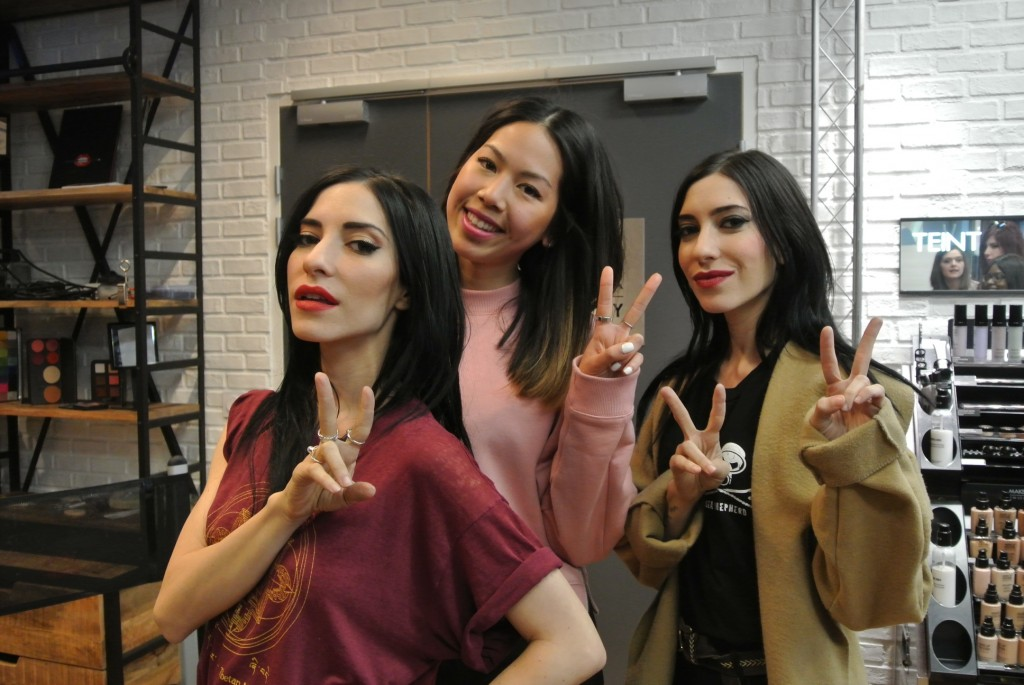 The Veronicas with Candy Rosie