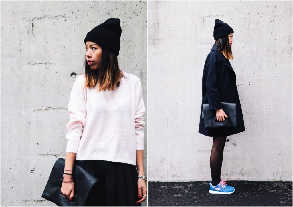 Pink sweater Monki