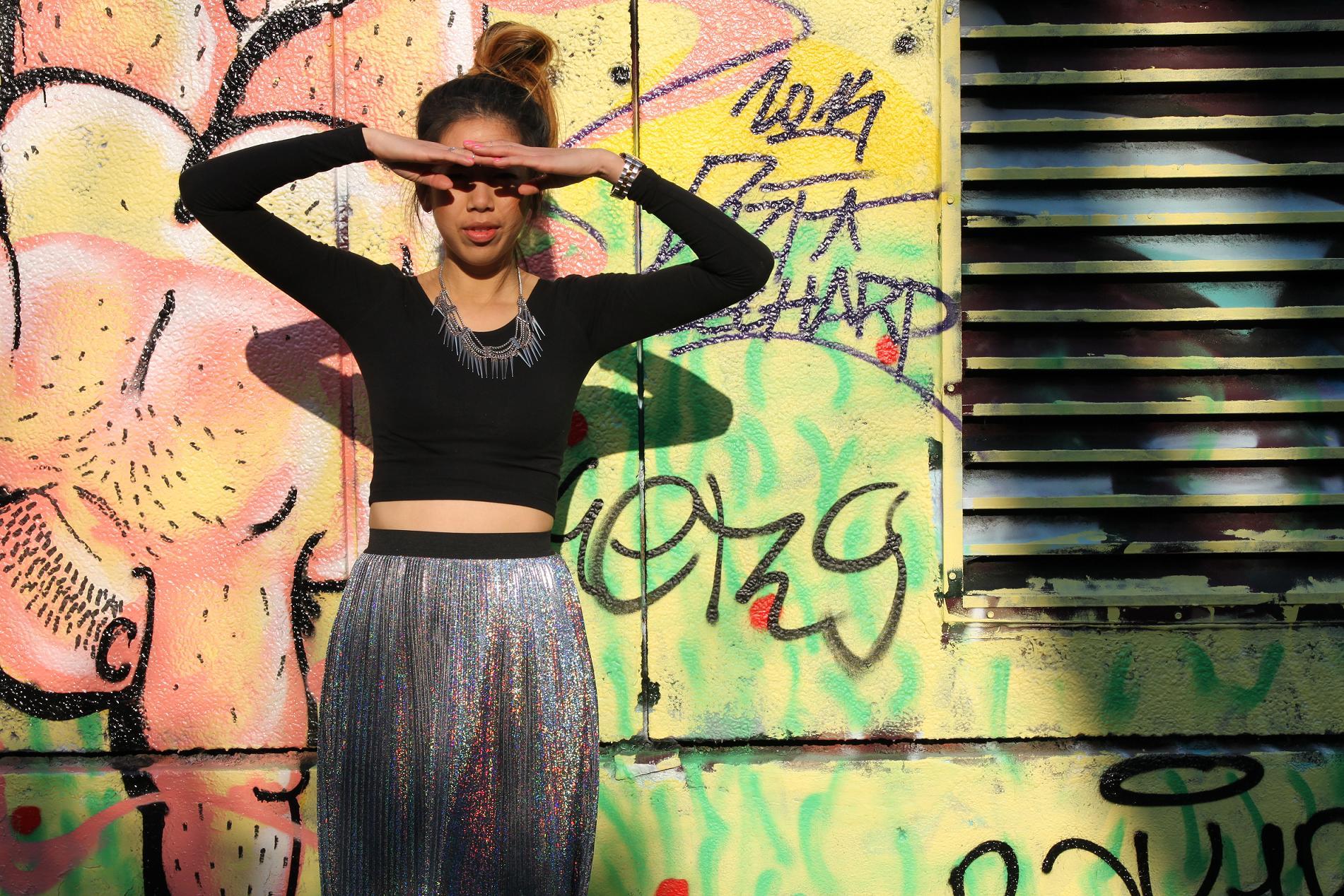 Glitter Monki Skirt